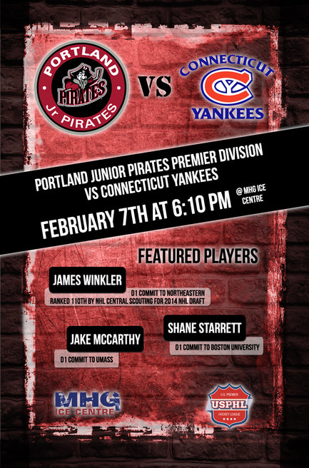 Portland Jr Pirates Hockey