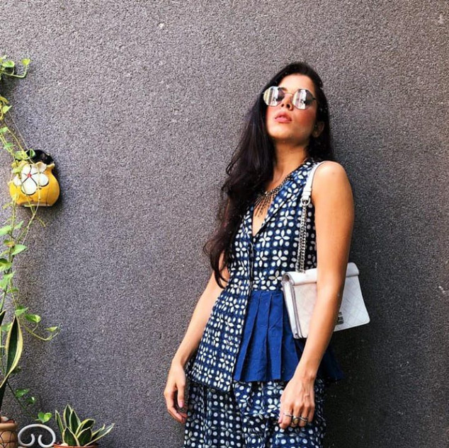 Indigo Dress worn by Influencer