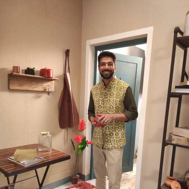 Chef Ranvir Barr wearing Nehru Jacket