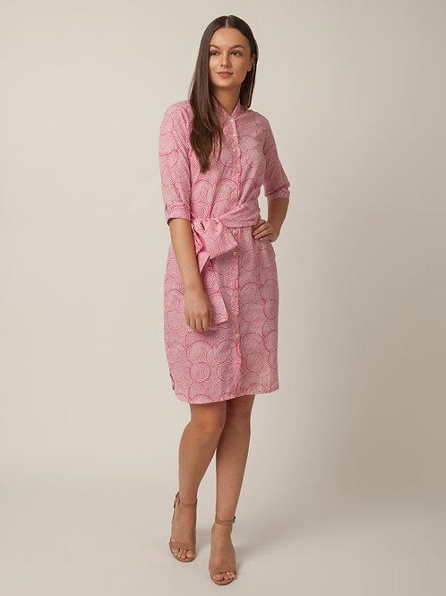 PAKHI SHIRT DRESS - PINK