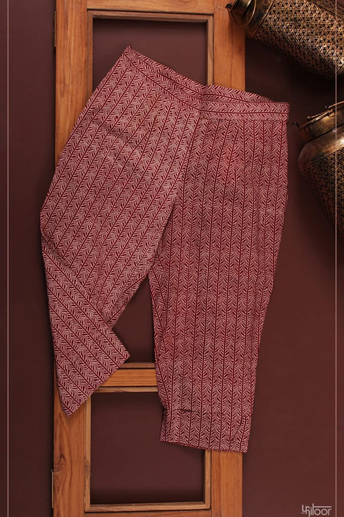 Cuff Pants - Red