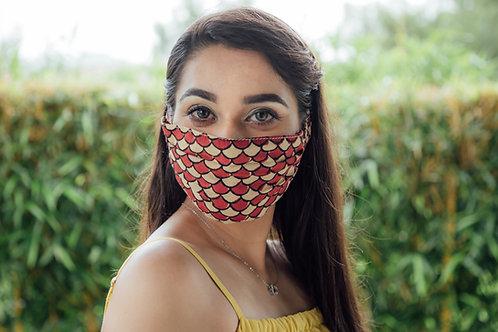 Pattern print mask