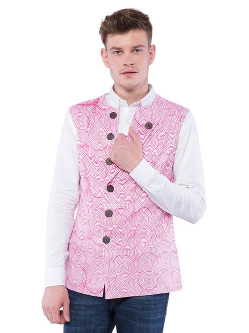 Nishat Orbit Bandi Jacket - Pink