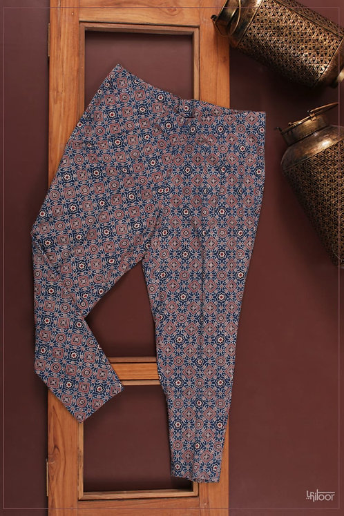 Straight Pants - Ajrak