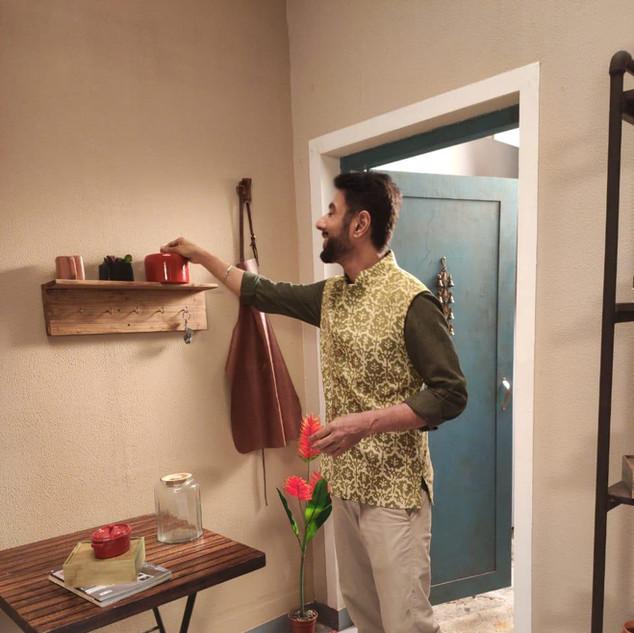Chef Ranvir Barr wearing Fitoor Jacket