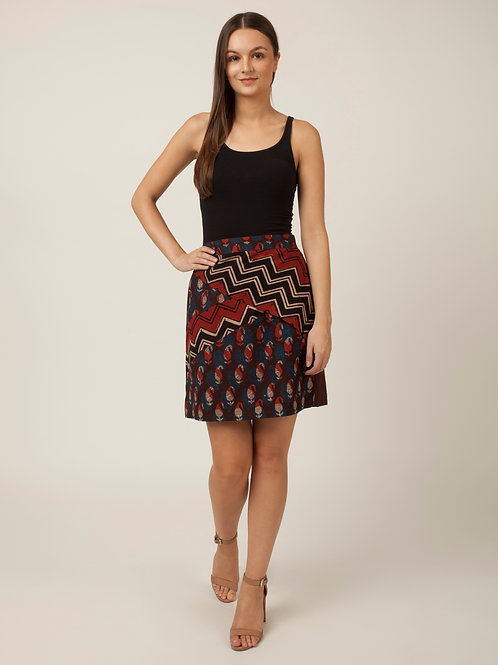PAKHI MULTICOLORED SKIRT