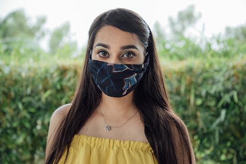 Dark colour stylish mask