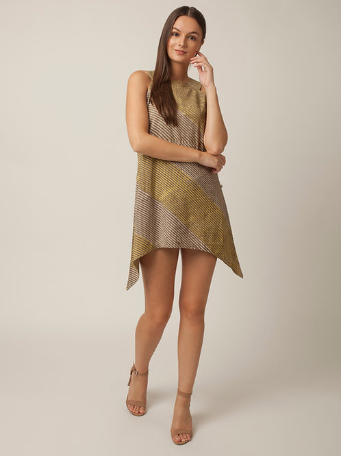 PAKHI SHORT DRESS - STRIPES