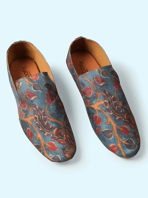 Azure Vine Loafers