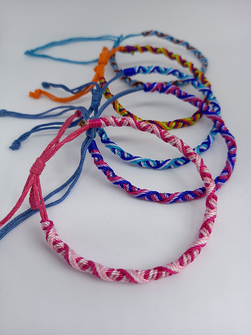 Multi Thread Wristband