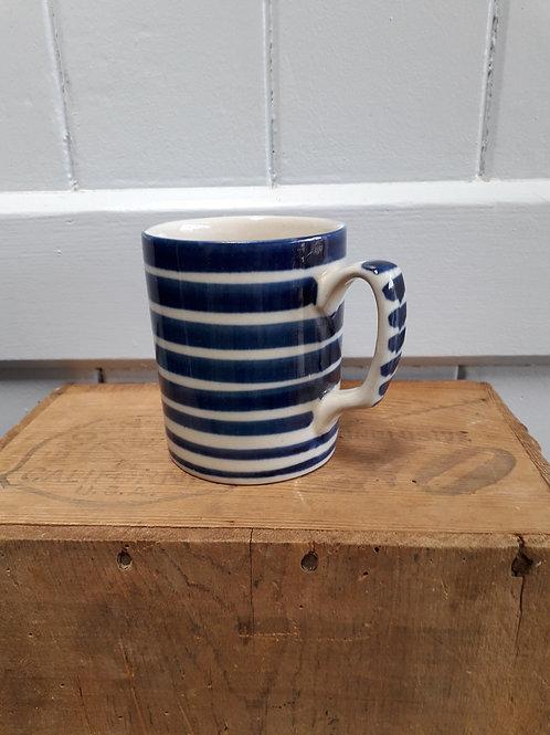 Striped Hand Painted mug