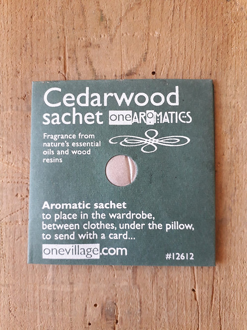 Cedarwood Aromatic scent sachet