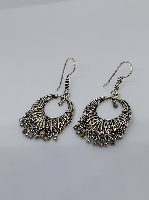Round Ethinic Earrings