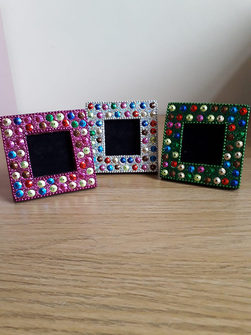 Jazzy Glitter Picture Frames