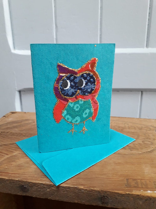 Owl Card with Envelope