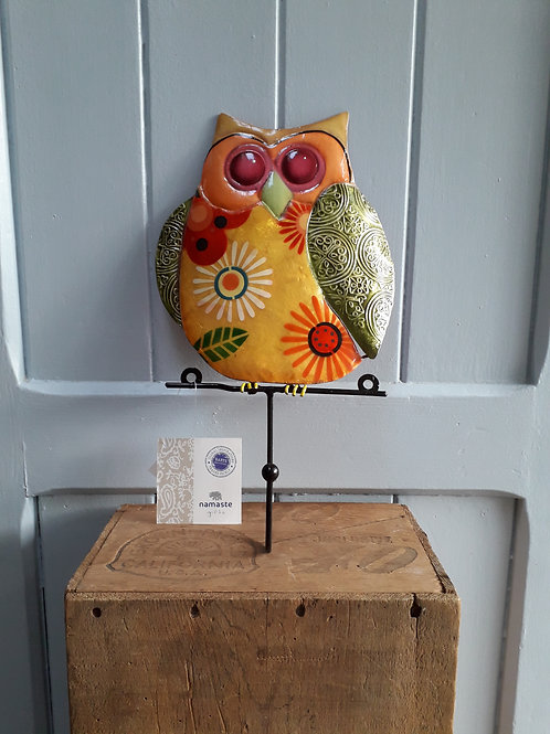 Owl with single hook