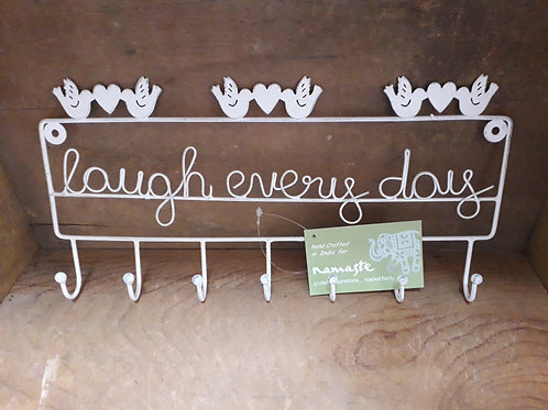 Laugh every day sign