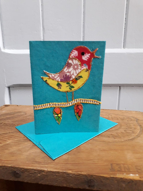 Bird Card with Envelope