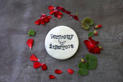 Perfectly Imperfect ceramic magnet