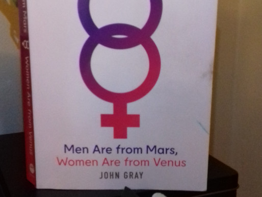 """Can """"Men Are from Mars, Women Are from Venus"""" really help you? My honest review."""