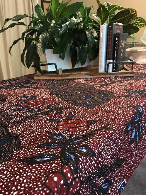 Peacock Tablecloth (SALE $30)