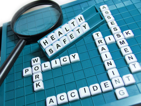 Health and safety requirements for your business.