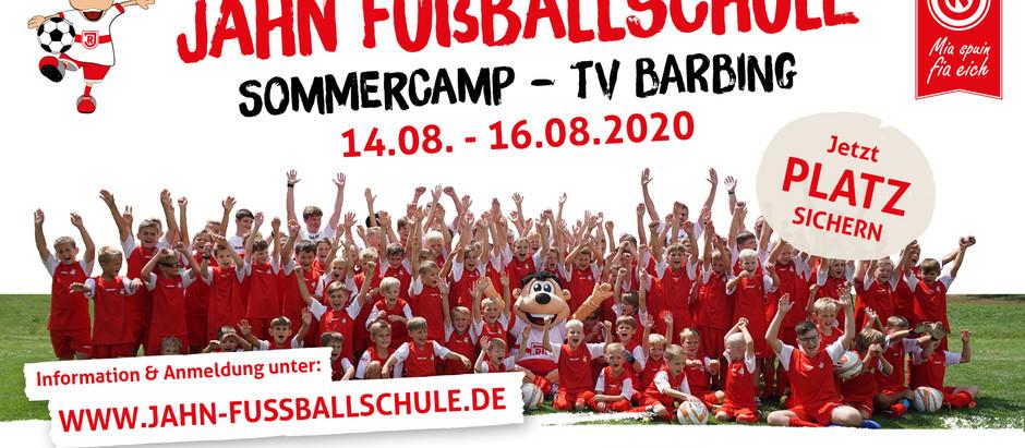 ⚽ Die Jahn Fußballschule kommt nach Barbing ⚽
