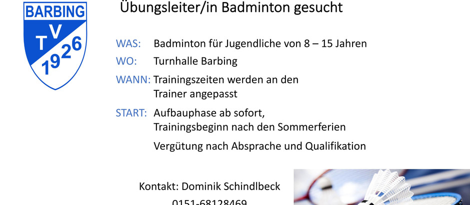 TV Barbing Badminton