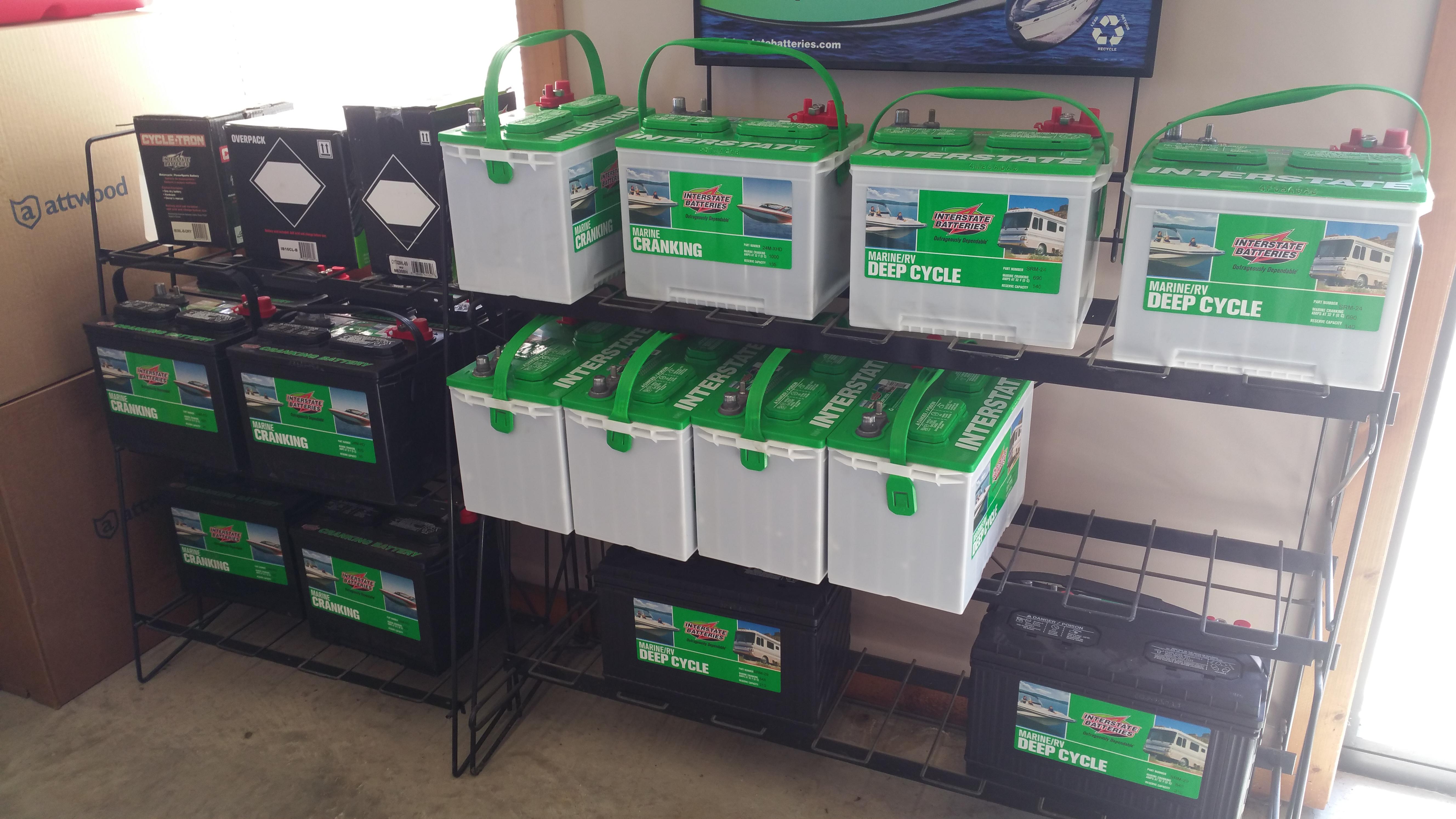 Marine and RV Interstate Batteries