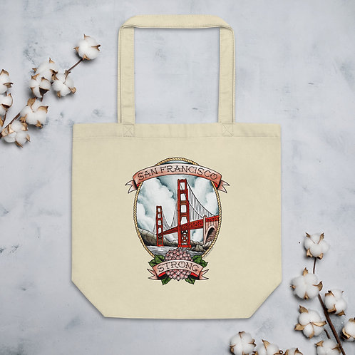 Full Color SF Strong Eco Tote Bag