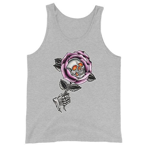 Skull Rose Unisex Tank