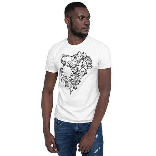 Wolf Girl (B) Unisex T-Shirt