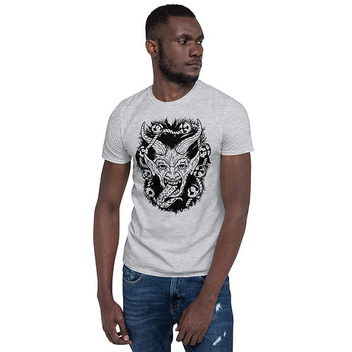 Krampus Short-Sleeve Unisex T-Shirt (dark print)