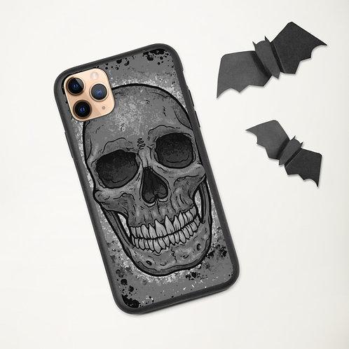 Skull Biodegradable phone case