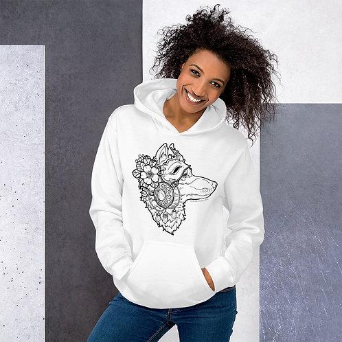 Wolf Spirit (B) Unisex Hoodie