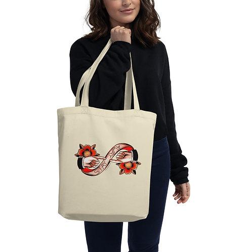 Social Distancing Eco Tote Bag