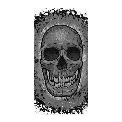 Skull Splatter Towel