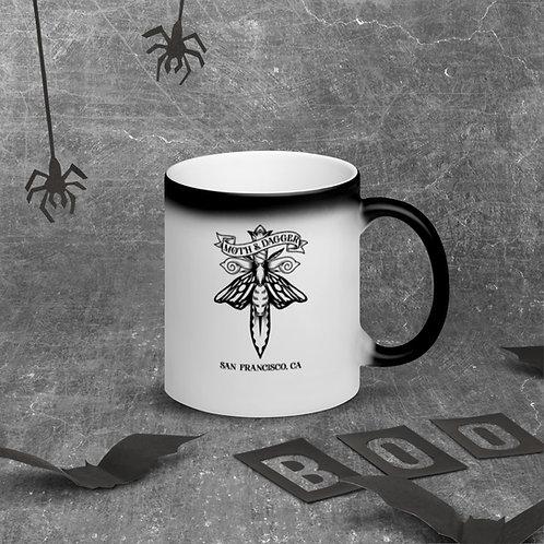 Moth SF Matte Black Magic Mug