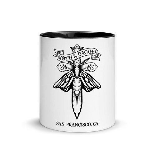 SF Moth Mug with Color Inside
