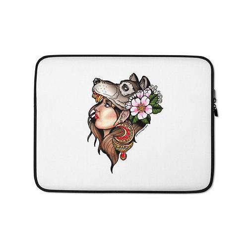 Wolfgirl Laptop Sleeve