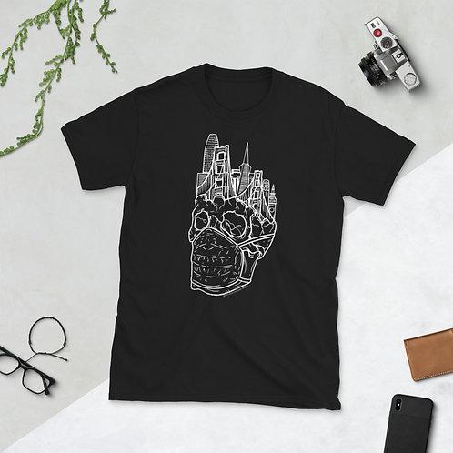 Whiteline Quarantine Skull Short-Sleeve Unisex T-Shirt