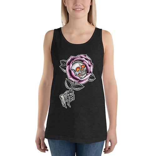Skull Rose Unisex Tank Top