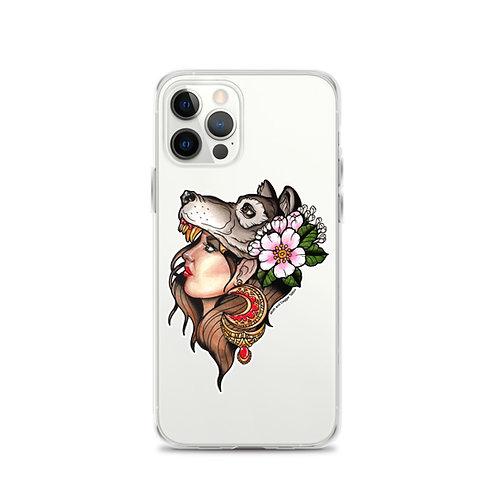 Wolfgirl iPhone Case