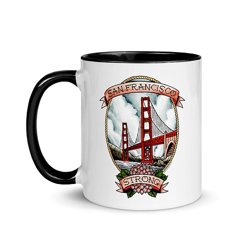 SF Strong Mug with Color Inside (2 Colors)