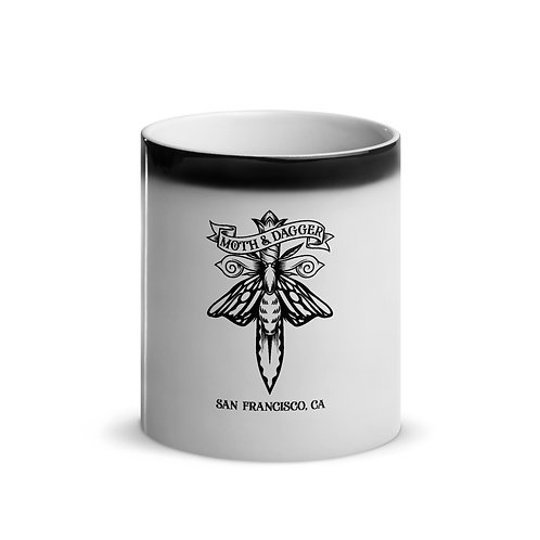 SF Moth Glossy Magic Mug