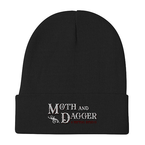 M&D Logo Embroidered Beanie