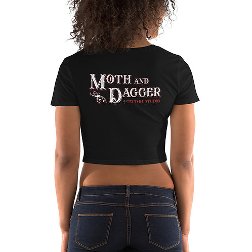 Women's M&D Crop Tee
