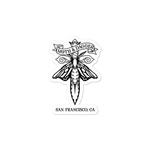SF Moth Sticker