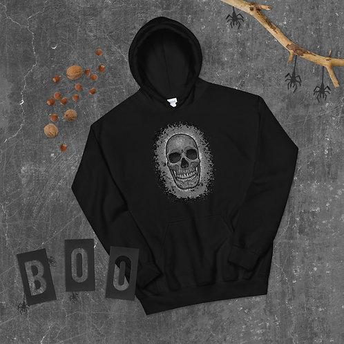 Skull Splash Unisex Hoodie