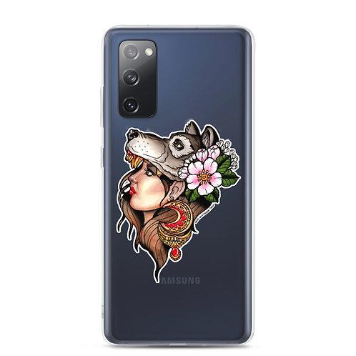 Wolfgirl Samsung Case